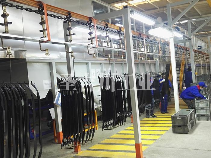 汽车结构件电泳涂装悬挂输送系统