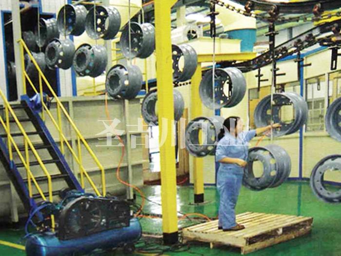 钢圈电泳固化炉