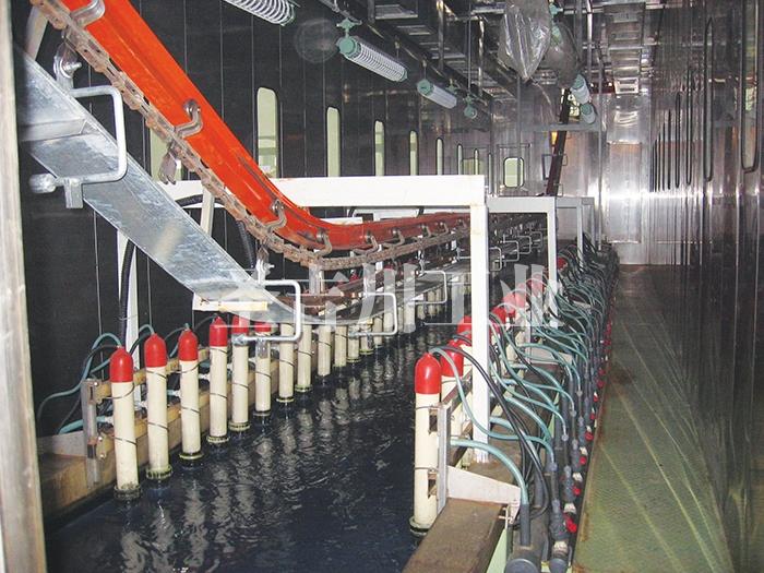 连续式电泳槽和阳板管系统