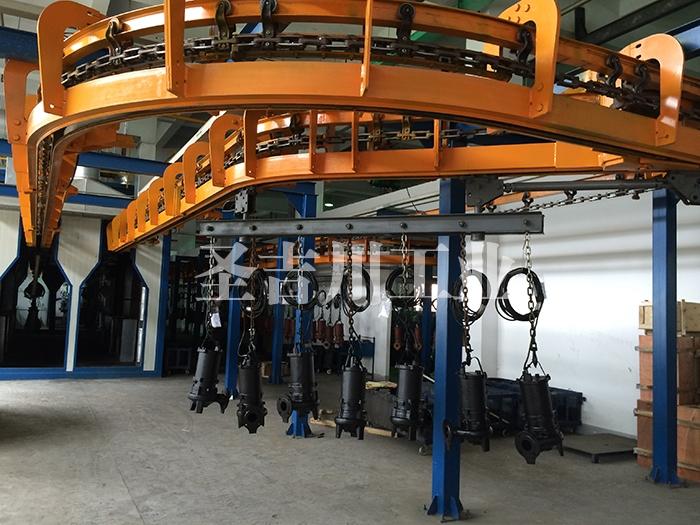 泵类、电机类壳体重型悬挂积放线