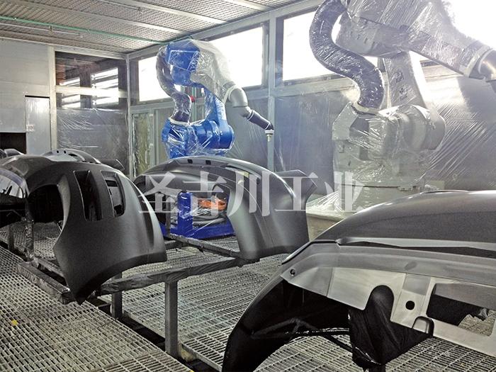 张家港保险杠机器人喷涂系统