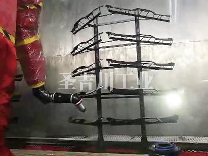 张家港进气格栅机器人喷涂线