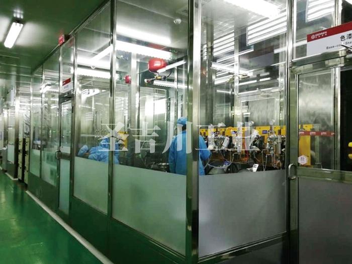 张家港机器人喷漆房及集中供漆换色系统