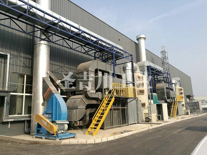 活性炭吸附+CO催化燃 烧废气处理系统