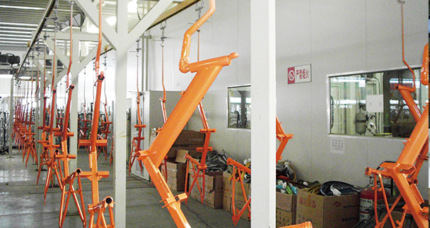 Coating technology and process of auto parts coating equipment