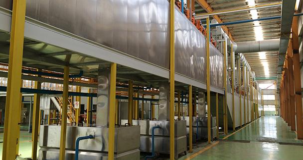 Technical characteristics of home appliance coating equipment